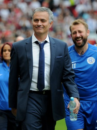 His side haven't even played a game yet but Jose Mourinho has started his mind games anyway