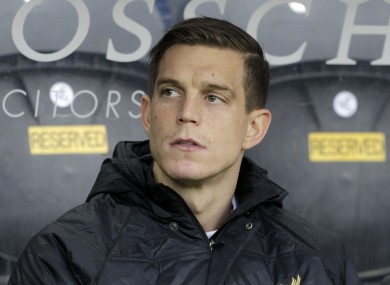 Daniel Agger: role on the bench under Brendan Rodgers.