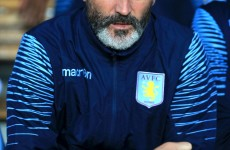 Roy Keane's face tells you all you need to know about the Villa result tonight