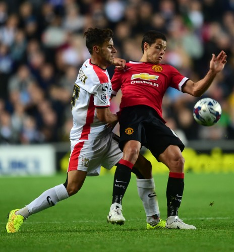 Soccer - Capital One Cup - Second Round - Milton Keynes Dons v Manchester United - Stadium:mk