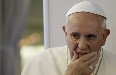 Pope Francis has endorsed the use of force to stop Islamic militants in Iraq