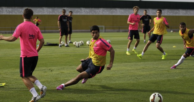 Luis Suarez could make Barca debut in a friendly tomorrow