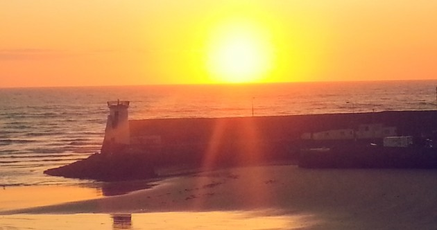 Your beautiful sunrise start to the day…
