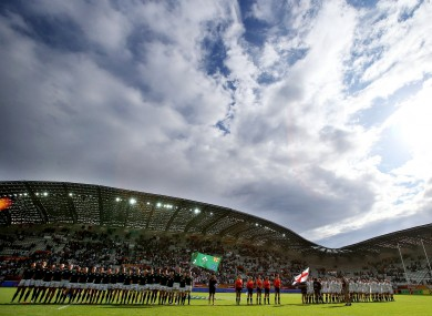 The Stade Jean-Bouin provided the backdrop for yesterday's semi-finals.