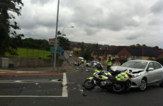 Two gardaí on motorcycles injured in Sligo crash