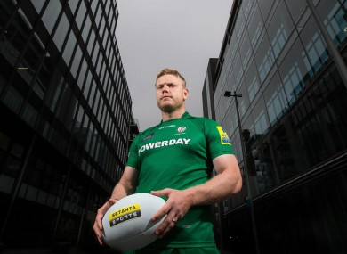 Tom Court was speaking at the launch of partnership between London Irish and Setanta Sports.