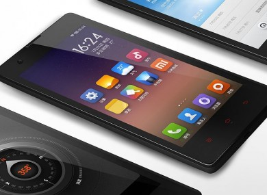 The RedMi 1S which has helped Xiaomi take top spot in the Chinese market.