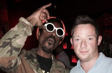 Outkast partied it up in Lillie's Bordello last night