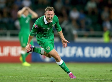 Aiden McGeady's stoppage-time winner against Georgia boosted Ireland's world ranking.