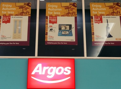 argos needs 500 more staff to cope with christmas rush. Black Bedroom Furniture Sets. Home Design Ideas