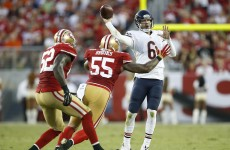 49ers pay the price for poking the Bears