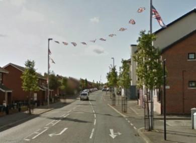 North Queen Street in Belfast pictured in 2012.