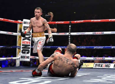 Frampton's KO win in February 2013 was the only time that Martinez has been stopped inside the distance.