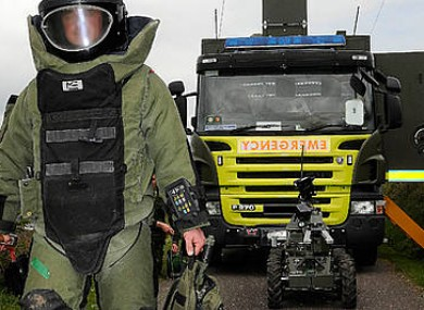 A member of the Bomb Disposal Team (File photo)
