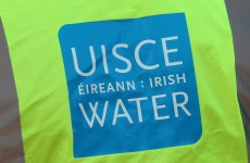 Anti-water charges protest takes place outside garda station