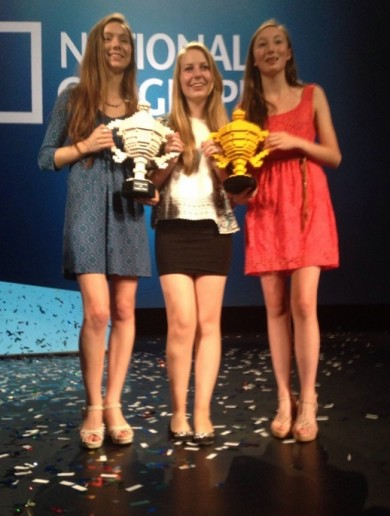 Irish schoolgirls take home grand prize at Google Science Fair