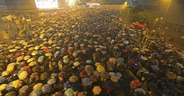 """Hong Kong protesters: """"Nothing can stop us"""""""
