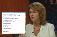 Joan Burton trended worldwide on Twitter after Late Late Show appearance