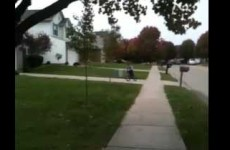 Kid attempts bicycle jump, fails miserably