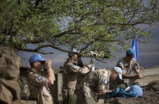 'Great escape' Irish troops get ready to leave Golan Heights