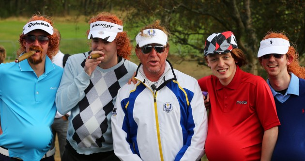 What's the only thing better than Miguel Angel Jimenez? FIVE of them