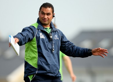 Lam has overseen two Connacht wins in the opening two fixtures of the season.