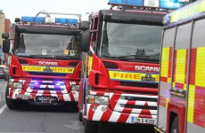 Mother and two children rescued from Dublin fire