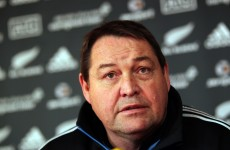 Hansen delighted with All Blacks three-peat