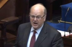 Video: Michael Noonan made a joke about Sinn Féin and everyone in the Dáil laughed