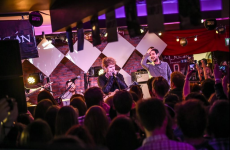 Kodaline played a secret gig in Galway last night, and hundreds queued to get in