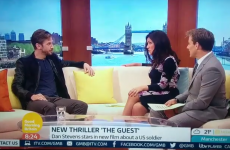 Matthew from Downton Abbey just got asked about 'beating off lots of men' on TV