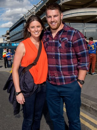 Sean O'Brien (and Denise) took in Saturday's All-Ireland SHC final replay.