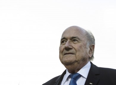 FIFA President Sepp Blatter is a controversial figure in the world of football.