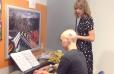 Taylor Swift surprises cancer patient and sings Adele tearjerker with him