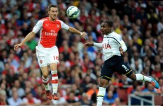 As it happened: Arsenal vs Tottenham, Premier League