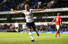 Soldado and Kane on target as Spurs come from behind to see off Forest