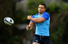 Ben Te'o will make his Leinster debut for the A team this weekend