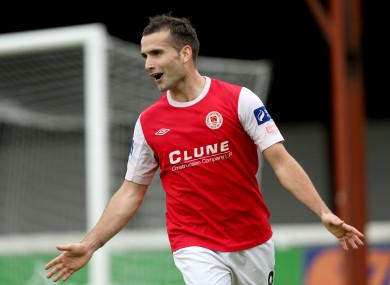 Christy Fagan was on target tonight (file pic).
