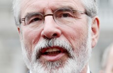 "Gerry Adams says IRA ""failed victims"" in how it dealt with sex abuse claims"