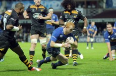 Heaslip drives Leinster to Champions Cup victory over plucky Wasps