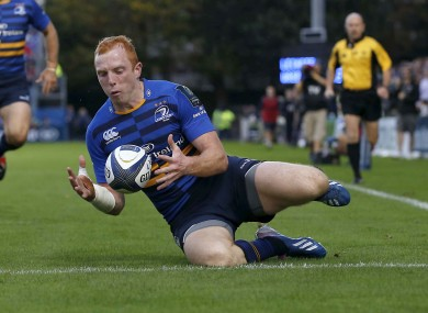 Darragh Fanning combined well with Jimmy Gopperth to score his first European try.