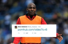 This footballer's mortifying Twitter porn gaffe is going viral… but it's a hoax