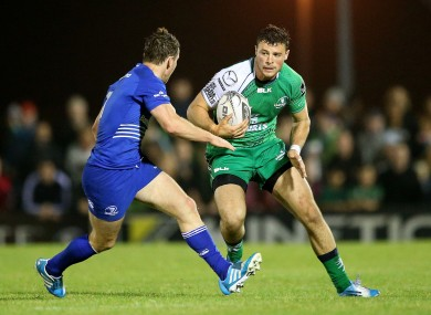 Henshaw has been in strong form for Connacht in the 13 shirt.
