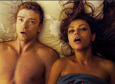Justin Timberlake and Mila Kunis star in Friends with Benefits.