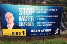Sinn Féin's Dáil favourite: I'm not paying my water charges