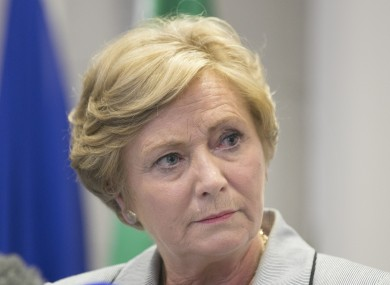 Serious Frances Fitzgerald