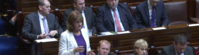 Joan Burton: I'm delighted people are filming Irish Water protests