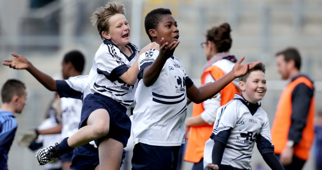 8 great pics from today's Cumann na mBunscol finals in Croke Park