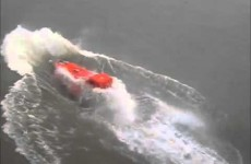 Here's how to NOT launch a lifeboat, ever