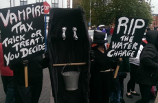 Limerick protesters plan to burn Irish Water forms to give Government a 'Halloween scare'